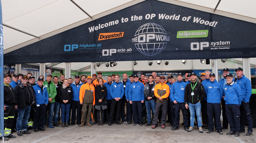 OPworld gruppbilden